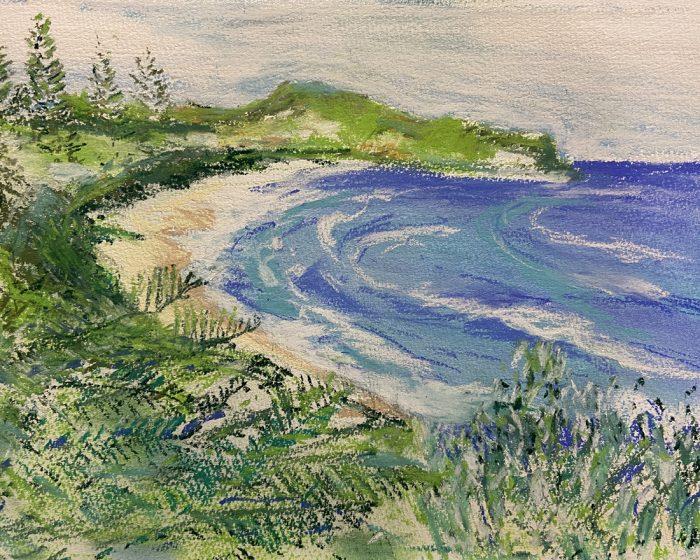 Seabreeze Boomerang Beach painting